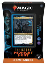 MAGIC THE GATHERING - Innistrad: Midnight Hunt - Undead Unleashed Commander Deck