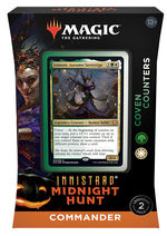 MAGIC THE GATHERING - Innistrad: Midnight Hunt - Coven Counters Commander Deck