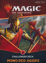 MAGIC THE GATHERING - Challenger Deck 2021 - Mono Red Aggro