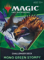 MAGIC THE GATHERING - Challenger Deck 2021 - Mono Green Stompy